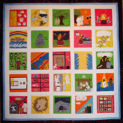 Complete Set of 25 Bible Quilt Patterns