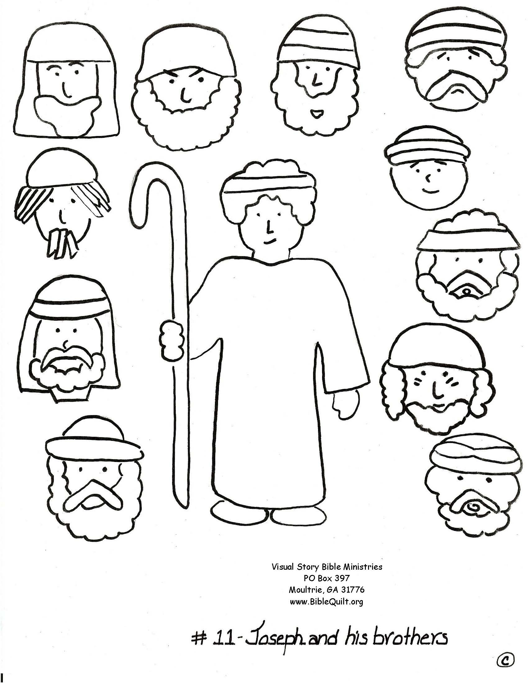 bible crafts coloring pages - photo#23